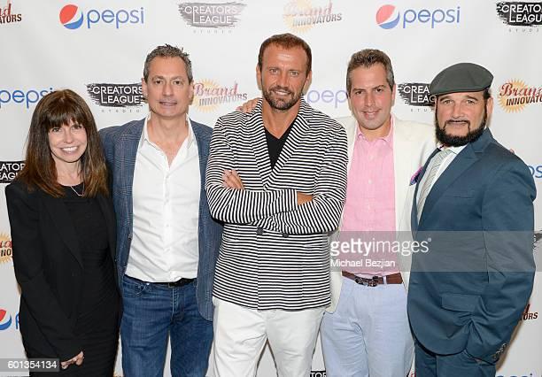 Sr Marketing Director Global Consumer Engagement at Pepsi Ellen Healy CoFounder of Brand Innovators Marc Sternberg Senior VP and CDO of PepsiCo Mauro...