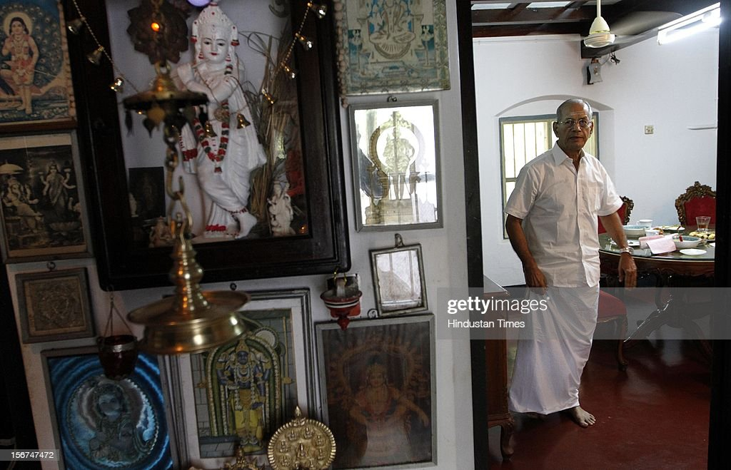 'KOCHI, INDIA - SEPTEMBER 3: E Sreedharan, former DMRC chief at his residence on September 3, 2012 in Ponnani, India. (Photo by Arijit Sen/Hindustan Times via Getty Images)'