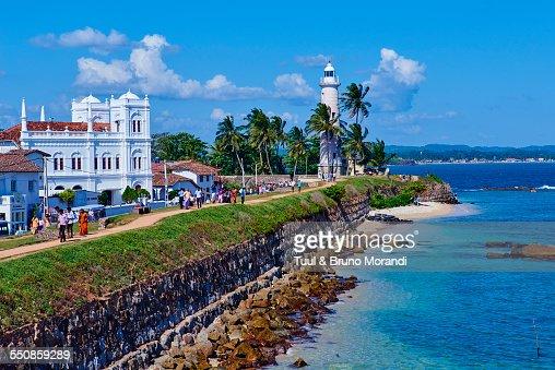 Sri Lanka, Galle, Dutch fort, Lighthouse