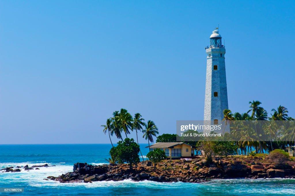 Sri Lanka, Matara, Dondra lighthouse