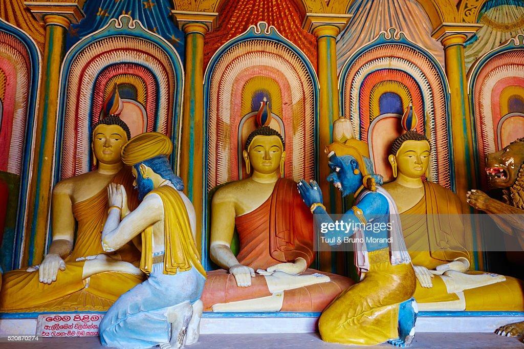 Sri Lanka, Matara, Wewurukannala temple