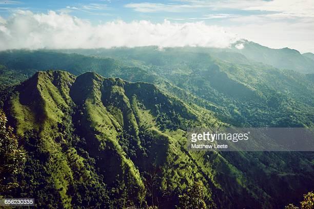 Sri Lanka mountain range