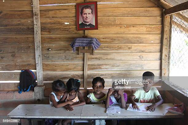 The Salesian fight against pedophilia and helps the young boys to get education Children during the school lesson by the Sisters of Good Shepherd