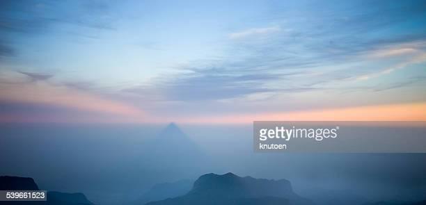 Sri Lanka, Sunrise at Adams Peak