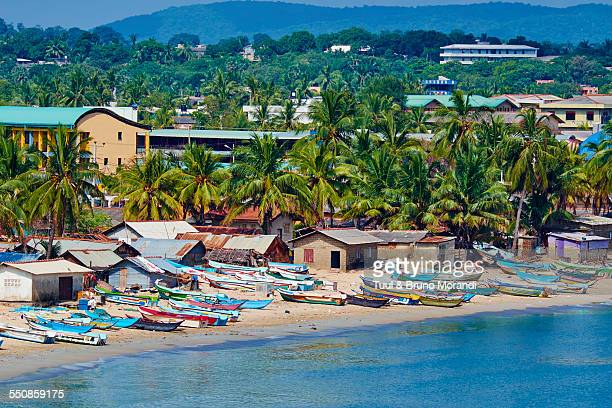 Sri Lanka, Trincomalee, fishing village