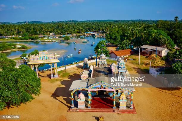Sri Lanka, Trincomalee, Salli Muthumariamunam hindu temple