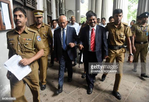 Sri Lankan aide to former president Mahinda Rajapakse Lalith Weeratunga and former directorgeneral of the Telecommunications Regulatory Commission...