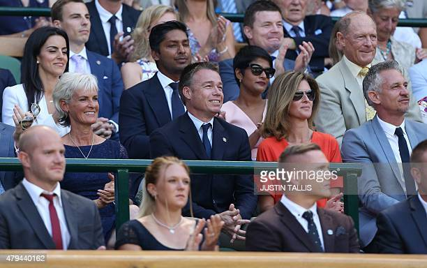 Sri Lankan cricketer Kumar Sangakkara Former England cricketer Geoffrey Boycott British tennis coach and mother of Britain's Andy Murray Judy Murray...