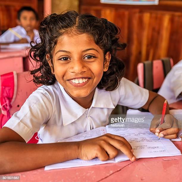 Sri-lankaise école enfants dans une salle de classe