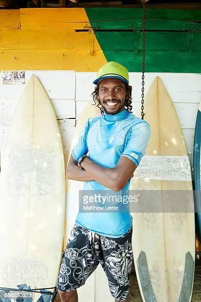 Sri Lankan Surfer
