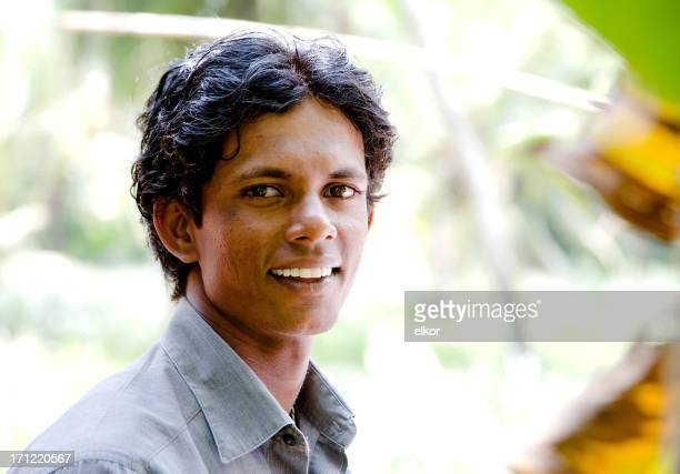 Sri Lankan young man