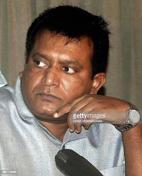 SriLankaunrestPrabhakaranPROFILE In this picture taken 10 April 2002 Sri Lankan Tamil Tiger guerrilla leader Velupillai Prabhakaran listens to a...