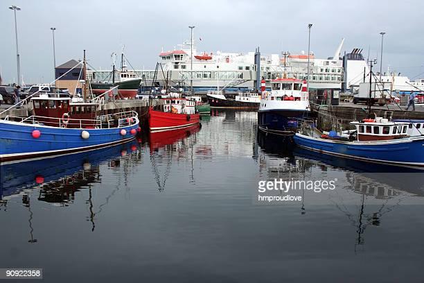 Sromness harbour