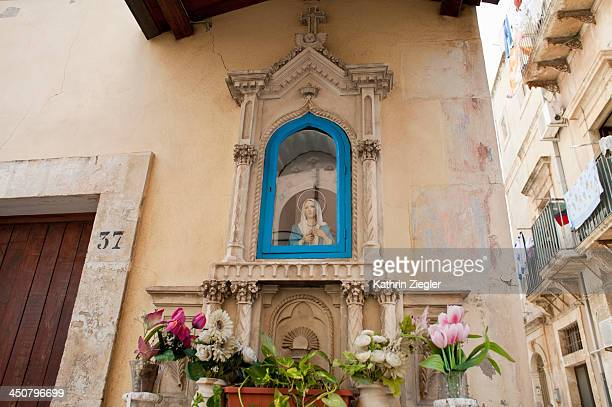 Sstreet altar, Noto, Sicily