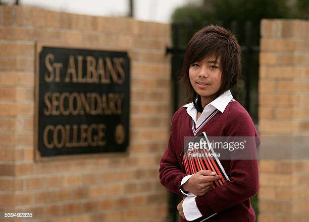 St Albans Secondary College studentDua Ling Ingme