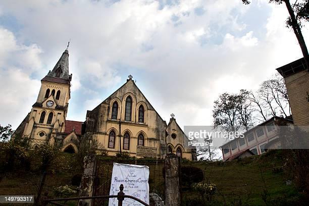 St Andrews Church in Darjeeling