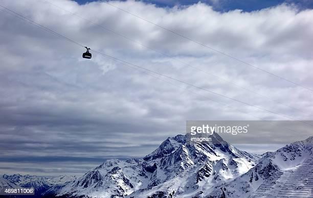 St Anton - Ski lift - Skiing
