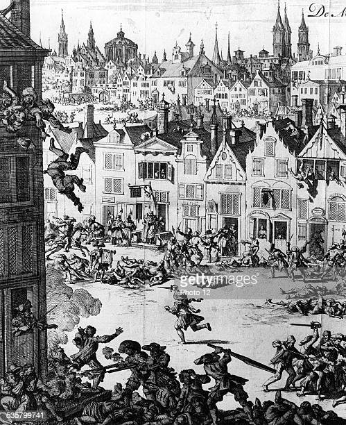 St Bartholomew's Day massacre The Huguenot being killed August 24 1572
