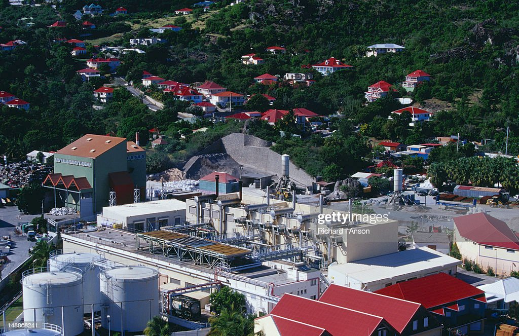 St Barts industrial area.