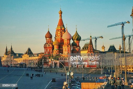 St. Basils Cathedral Dominating Red Square