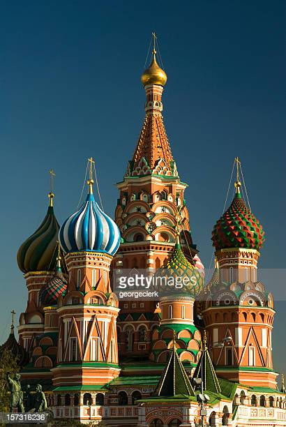 St Basils Cathedral in Red Square, Moscow