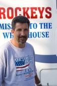 St Bernard Parish resident and Hurricane Katrina survivor Rockey Vaccarella is towing his honorary FEMA trailer to Washington DC in hopes of having...