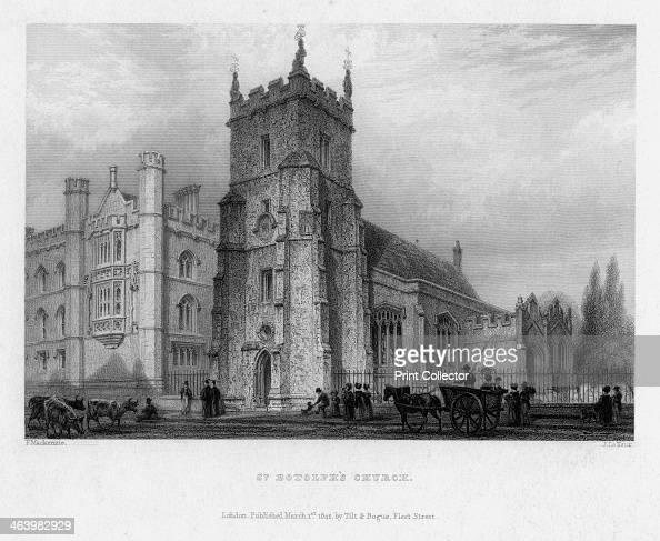 St Botolph's Church Boston Lincolnshire 1842