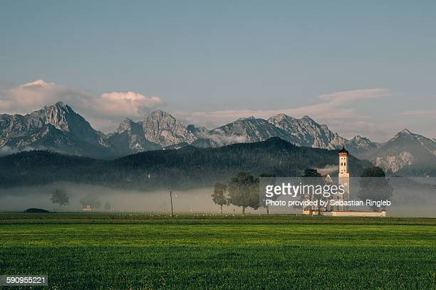 St. Coloman and the Alps