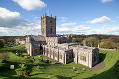 St David's Cathedral in Pembrokeshire, Wales.