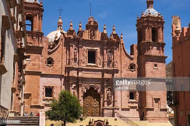 St Domingo church.