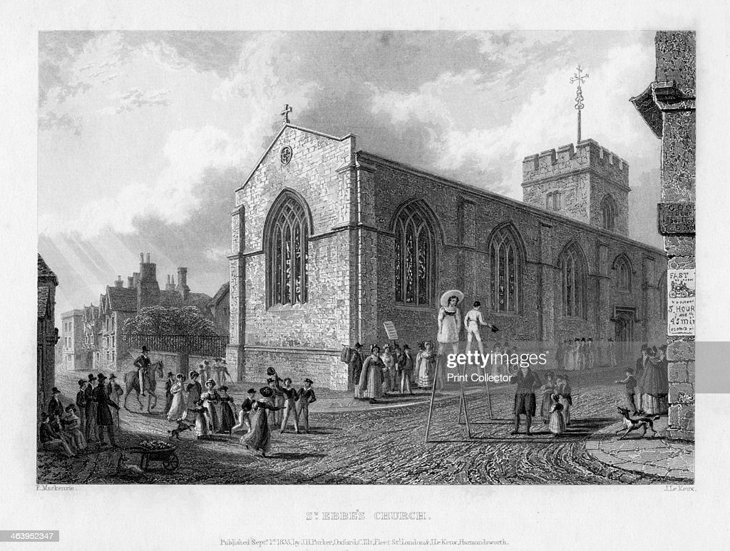 St Ebbe's Church Oxford 1835