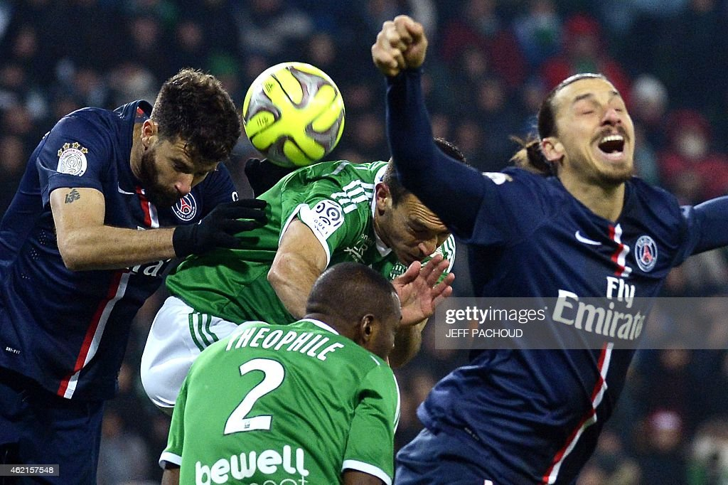 AS Saint-Etienne v Paris Saint-Germain FC - Ligue 1