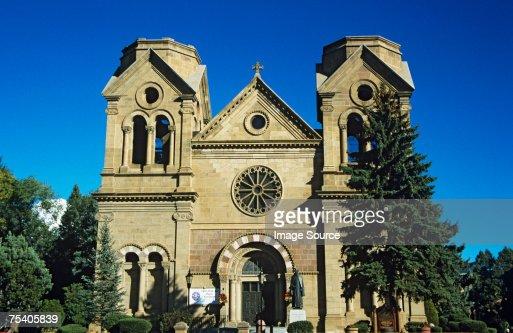 St francis cathedral santa fe : Stock Photo