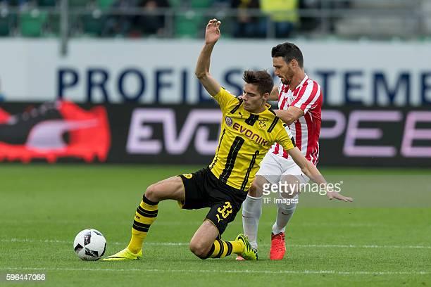 St Gallen Schweiz Testspiel Athletic Bilbao BV Borussia Dortmund BVB Aritz Aduriz gegen Julian Weigl