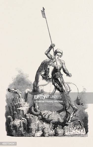 St George Slaying The Dragon From The Old Palace At Prague
