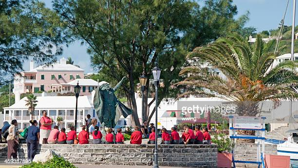 St. Georges, Bermuda, Student Field Trip