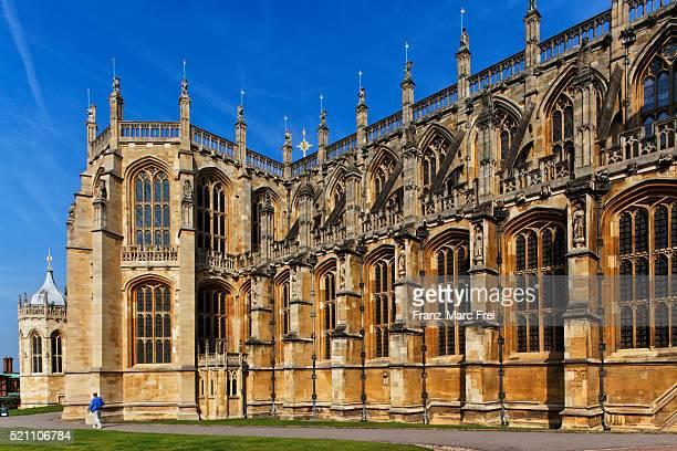 St George's chapel at Windsor castle, Berkshire, England