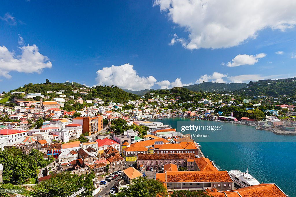 St. George's, Grenada W.I. : Stock Photo