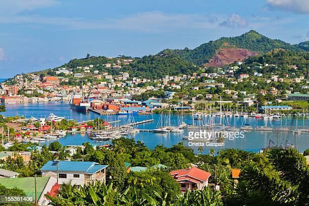 St. George's Harbor, Grenada W.I.