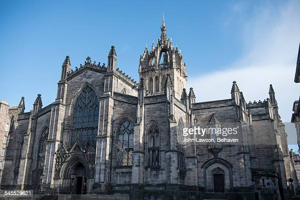 St Giles' Cathedral (front view), Edinburgh