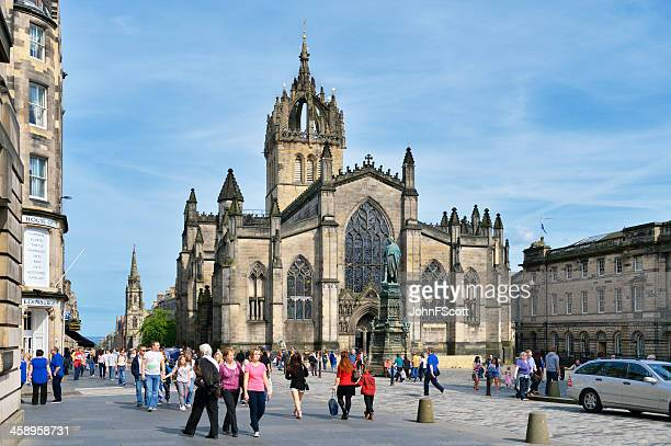 St Giles Cathedral in the heart of Edinburgh