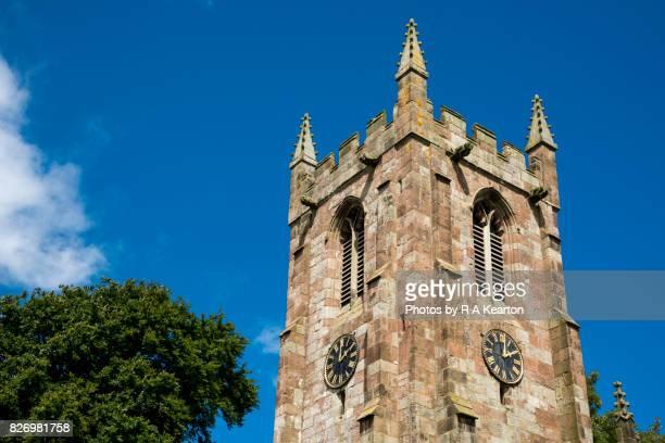 St Giles church, Hartington, Derbyshire, England
