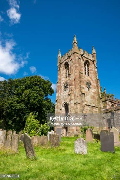 St Giles church, Hartington, Peak District, Derbyshire