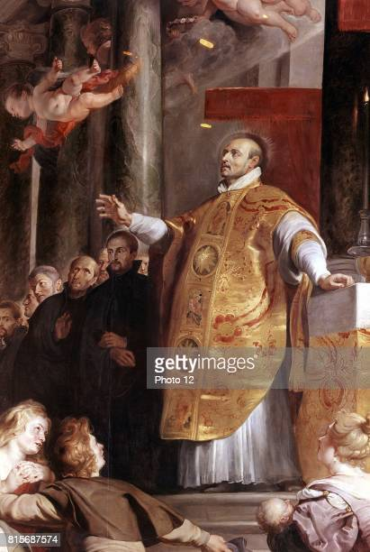 St Ignatius Loyola Spanish soldier founder of the Jesuits Picture by Rubens Kunsthistorisches Museum Vienna