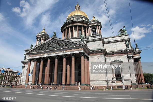 St Isaac's Cathedral St Petersburg Russia 2011 Built between 1818 and 1858 St Isaac's Cathedral was the largest cathedral in Russia when it was...