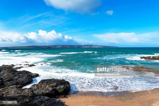 St Ives Bay, Cornwall, Uk