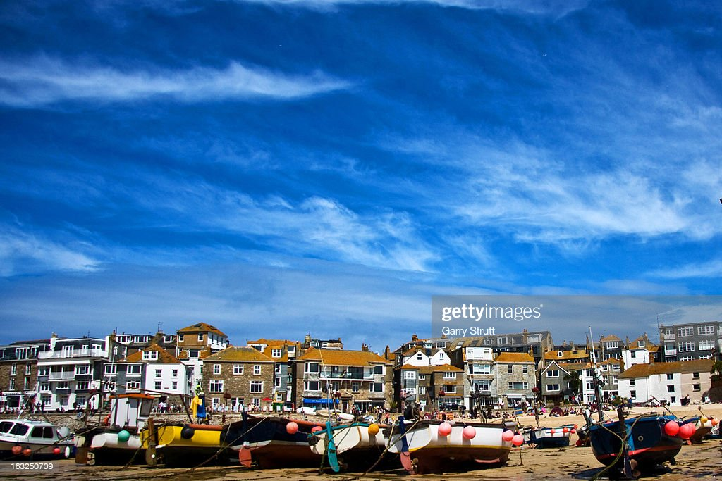 St Ives Harbour : Stock Photo