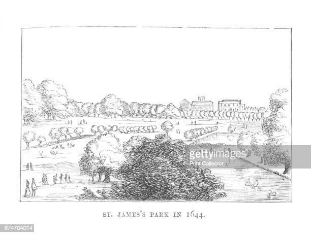 St James Park in 1644' c1870 St James's Park is a 23hectare park in the City of Westminster central London The park is bounded by Buckingham Palace...