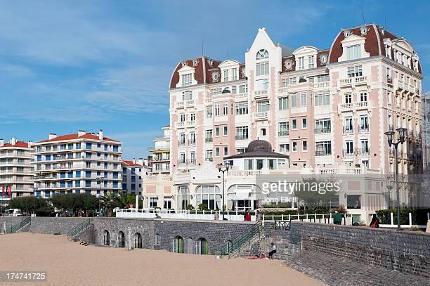 St Jean de Luz, beachfront hotel