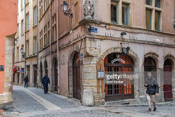 St Jean neighbourhood in Old Lyon, France
